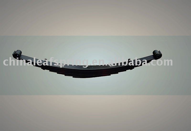 parabolic leaf spring ASsembly truck parts trailer suspension