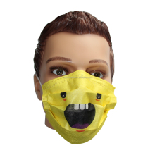 Non-stenle disposable surgical 2 ply earloop surgeon cartoon mouth mask cover