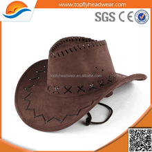 leather cowboy hat factory wholesale