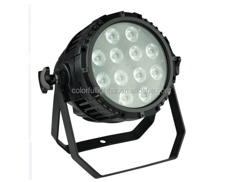 <strong>LED</strong> stage Par light 12 <strong>leds</strong> *10w RGBW 6 IN 1 Flat Slim <strong>LED</strong> par stage lighting IP65 waterproof Live Show DJ