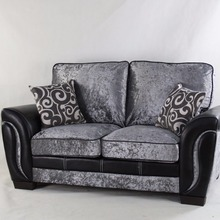 wholesale cheap latest living room sofa design/bedroom used Chesterfield 3 Seats fabric Sofa design