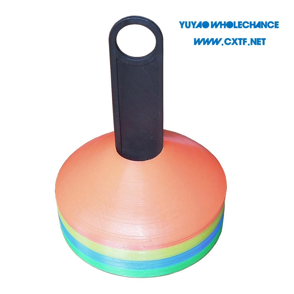 2 inch Soft PE Agility Training cone marker with Quality Assurance