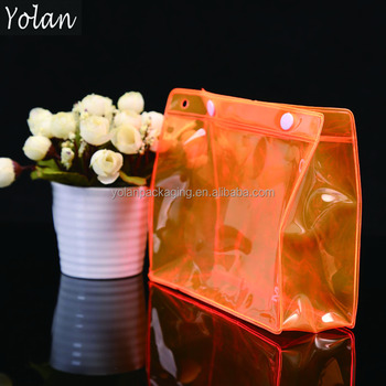 best selling attactive transparent PVC comestic bag