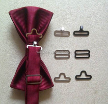 19mm bow tie hardware ,bow tie buckle,adjuster, bow tie hooks