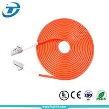 Multimode Jumper LC Fiber Optic Patch Cord For Using On Active device termination