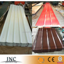 glazed stone chip coated steel colored roof sheets