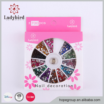 Professional Factory Supply nail accessories nail decoration