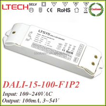 LTECH DALI-15-100-F1P2 100ma mini dali dimming led driver