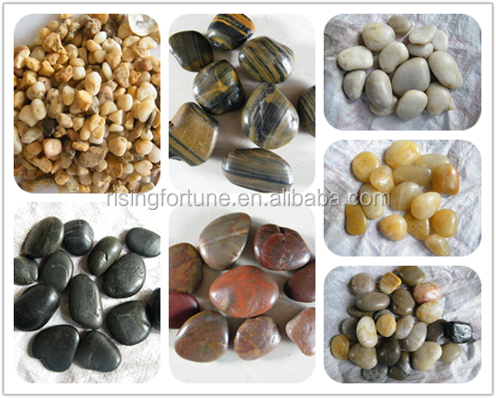 Natural pebble stone for garden