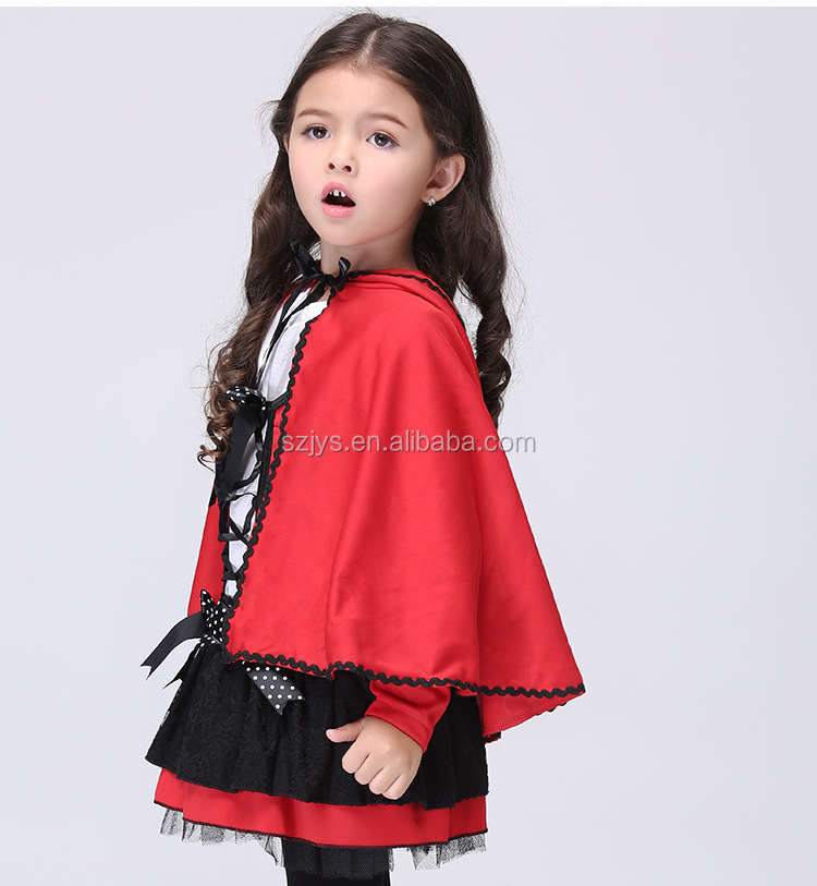 Baby wear cloak costume wholesale kids halloween girls dress cosplay