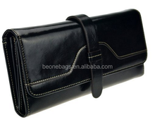 Lux Ladies Leather Long Wallet Clutch Purse Handbag Card Holder Case