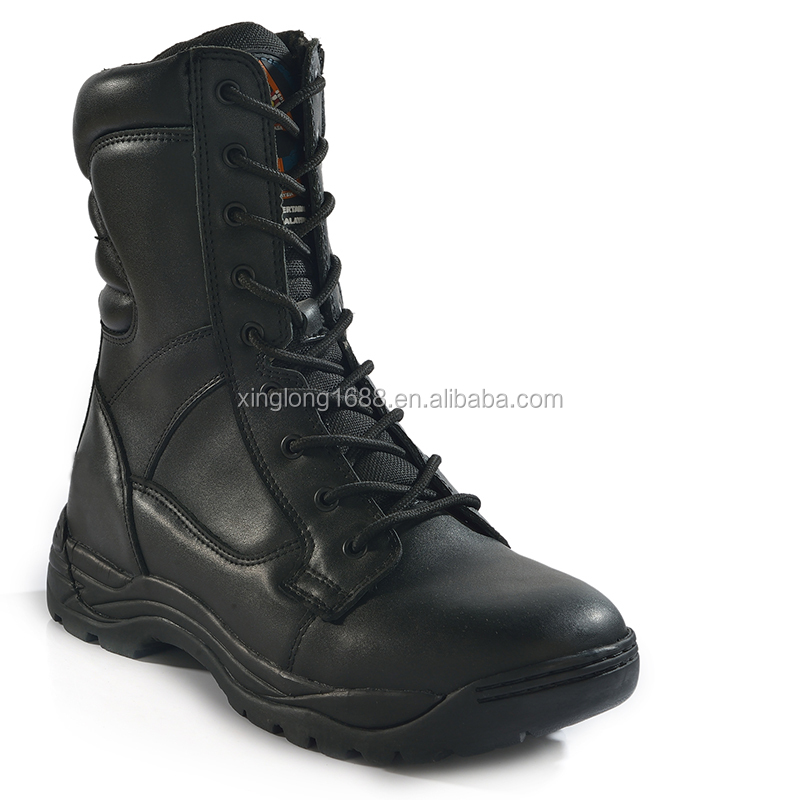 2017 new style High Quality Rubber Military/combat boots for men
