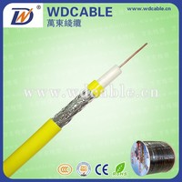 High quality 75ohm coaxial cable colored cable rg6