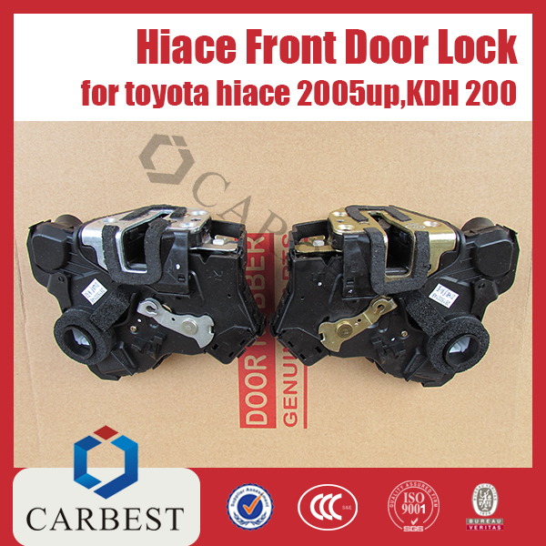 High Quality Toyota Hiace Front Door Lock for Toyota Hiace 2005 hiace 200
