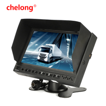 folding car monitor 7 Inch LCD TFT Car Foldable Rearview Monitor/7 inch flip down car monitor high definition