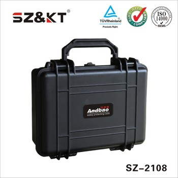 Dustproof plastic tool case