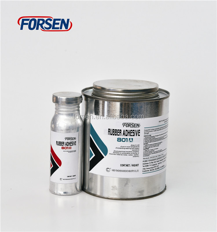 FS-801 Rubber Conveyor Belt Ruber Leather Bonding Adhesives Glue