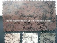 upholstery suede fabric for sofa and chair cover/bronzing suede fabric