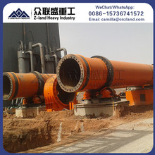 Chemical factory widely used cement quick lime actived carbon rotary kiln price
