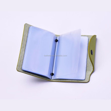 China Supplier New Product Genuine Leather Bingo Card Holders