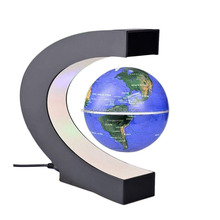 Acrylic cosmetic display stand 3d display device magnetic levitation globe