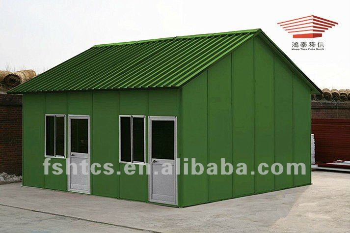 China transportable casa prefabricada con panel s ndwich - Casa panel sandwich ...