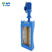 Water treatment wastewater channel grinder for waste water treatment plant