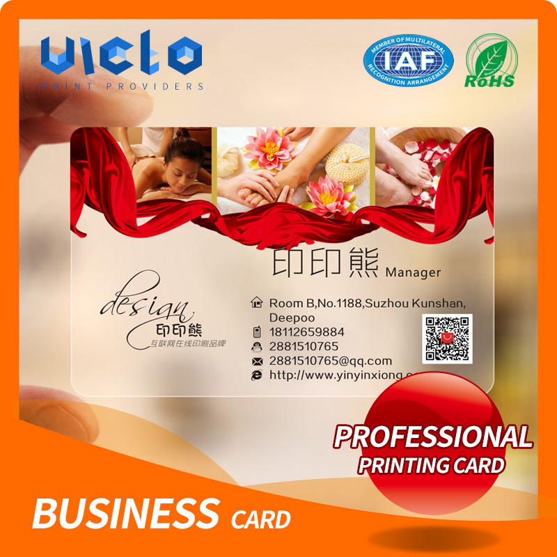 Manufacturer 4 color customized fancy business card design with best price