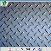 high quality laser cutting checker/chequered steel plate tear drop steel plate st37 2.5mm tangshan