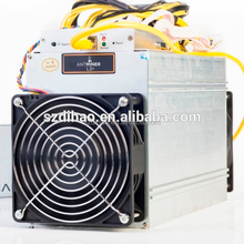ANTMINER L3+ LTC miner 504M scrypt miner Litecoin mining machine 504M 199W on wall better than S9 and ANTMINER L3