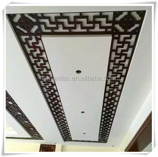 mdf decorative wall grille panel