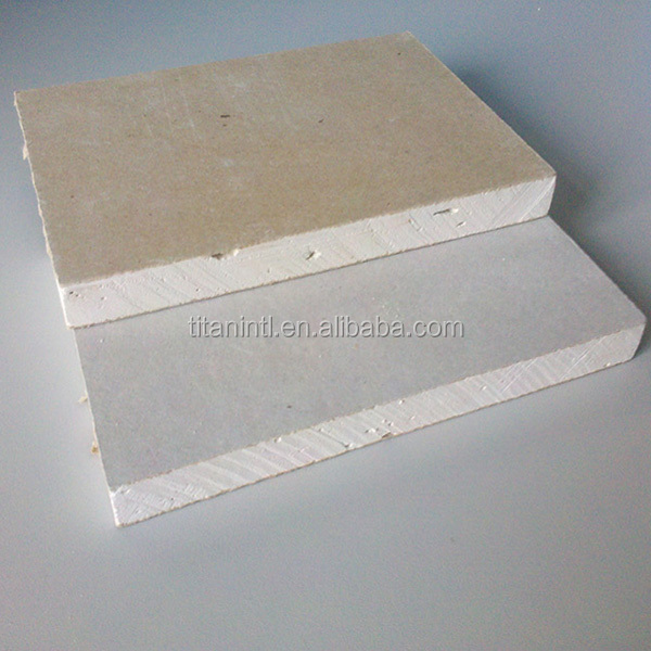 Outdoor Gypsum Board With Face Color Is Ivory