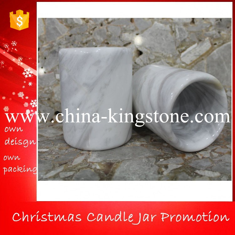 Australia christmas stone pen holders and Gift jars for candles