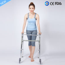 Elderly Disabled Outdoor Rehabiliation Rollator walker / elderly walking stick with low price