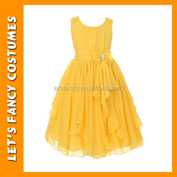 Flower Girl Chiffon Princess Dresses Kid party wear dresses Party Pageant girl dress