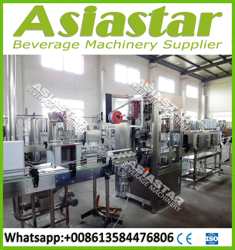CE BV approved automatic Sleeve labeling machine for Plastic Bottles