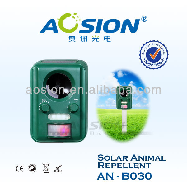 Solar ultrasonic dog cat bird stop AN-B030