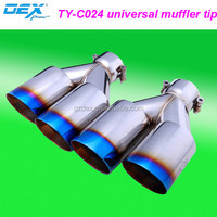 auto muffler manufacturers auto part exhaust tip exhaust pipe wholesale