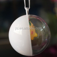 31 design style wholesale clear plastic round shape christmas ball ornaments