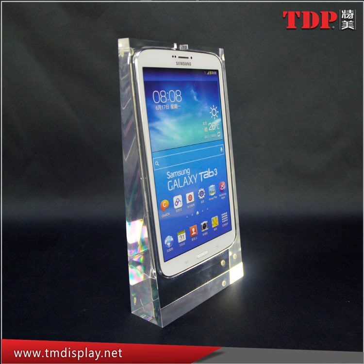 Manufacturer Fashion Transparent Acrylic Cell Phone Display Stands, Acrylic Cellphone Holders