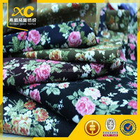 woven polyester printed corduroy fabric
