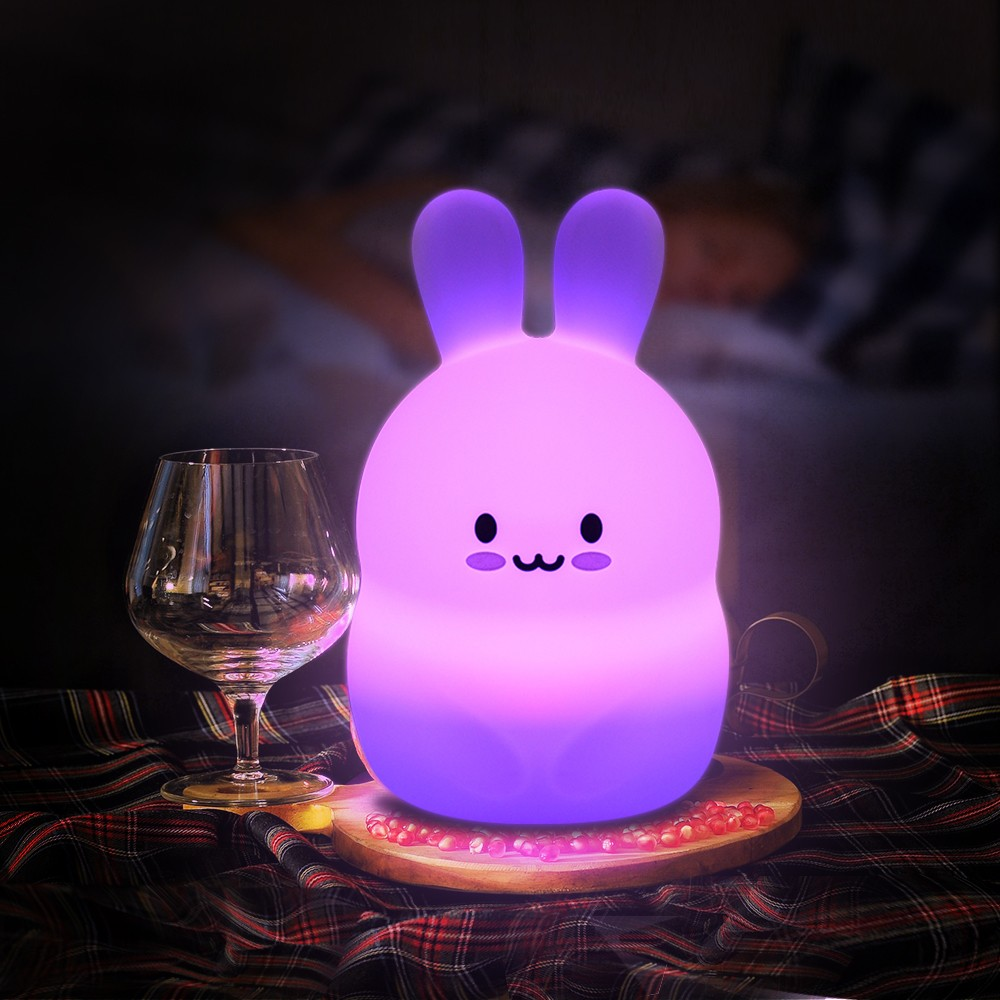 Bunny rabbit baby night light