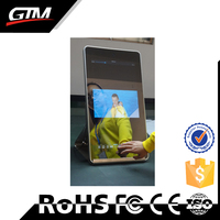 mirror touch screen 32inch android supported lcd custom kiosk industrial fanless pc frameless smart android bathroom mirror tv