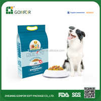 Stand up pouch bag dry dog food packaging food