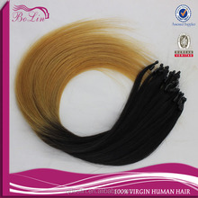 Factory Price Virgin cheap New style micro ring hair extensions