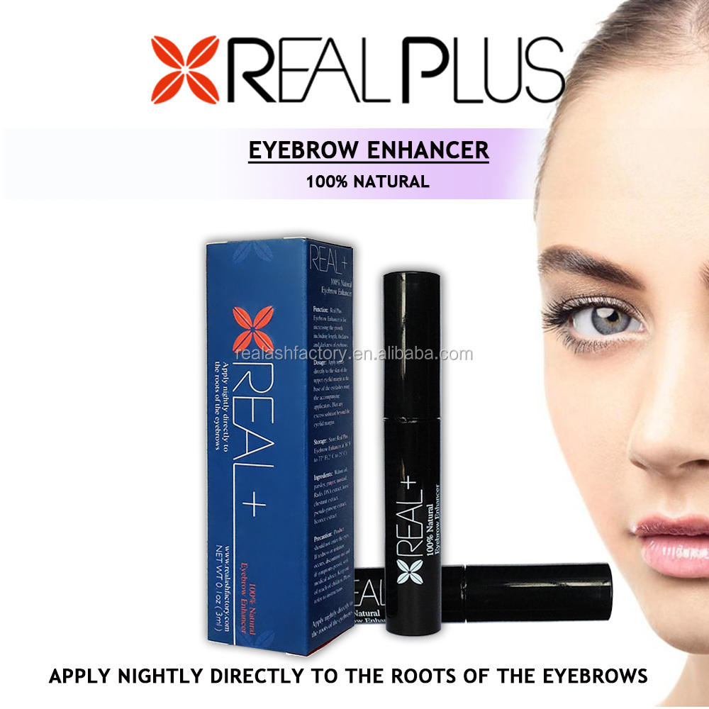 New gifts REAL PLUS eyebrow enhancer makes your eye brows thicker!