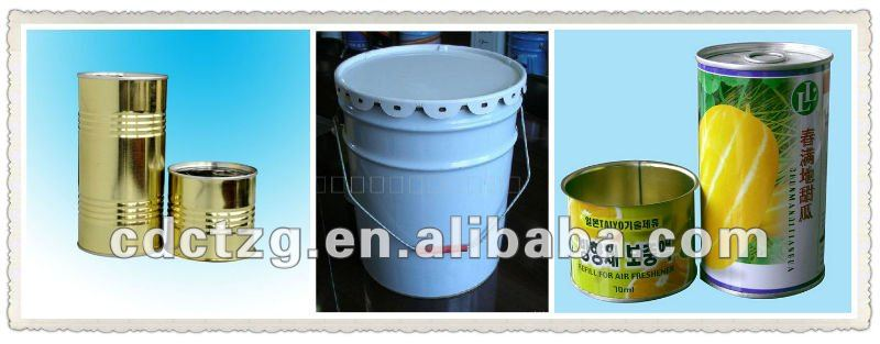 1-5L Round Can Making Machine Food Canning Machine