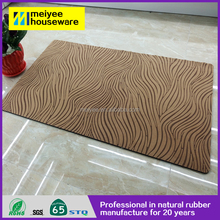 high quality and cheap rubber door mat,Hot sale popular 100% polyester hand tufted door mats