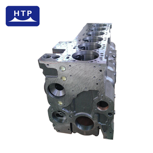 custom made automobile parts material metal cylinder Block for Cummins engine 6ct