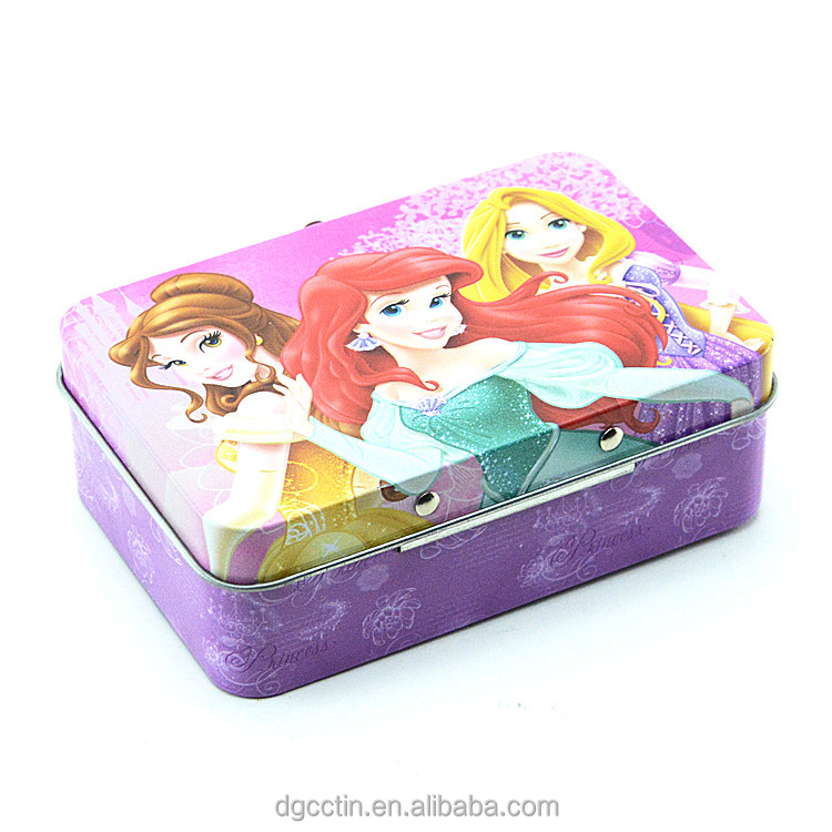 beautiful kids mini tin lunch box with handle wholesale